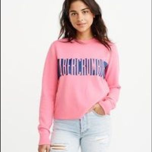 Abercrombie & Fitch cropped sweatshirt🏋🏽♀️